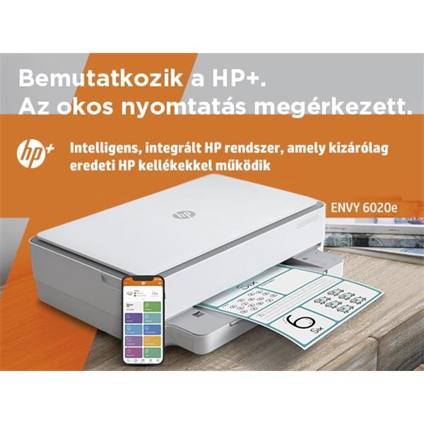 HP Envy 6020E AiO multifunkciós tintasugaras Instant Ink ready nyomtató - 32