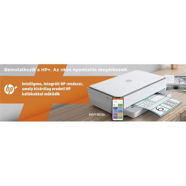 HP Envy 6020E AiO multifunkciós tintasugaras Instant Ink ready nyomtató - 30