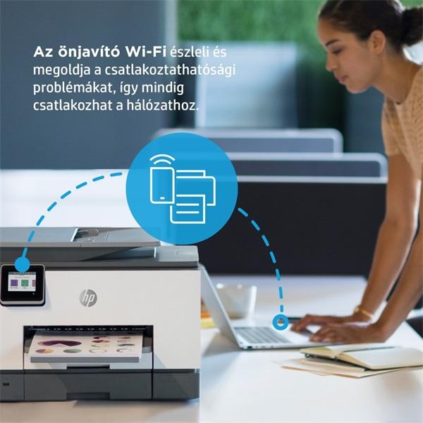 HP OfficeJet Pro 9022E All-in-One multifunkciós tintasugaras Instant Ink ready nyomtató - 19