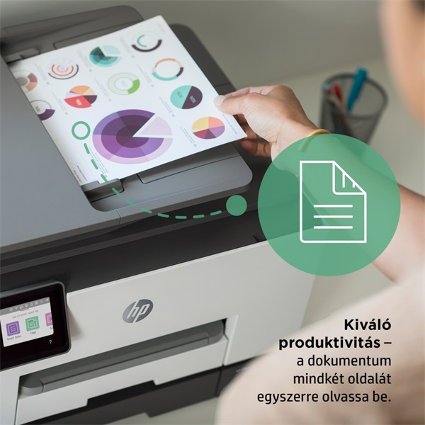 HP OfficeJet Pro 9022E All-in-One multifunkciós tintasugaras Instant Ink ready nyomtató - 20