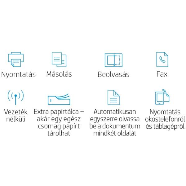 HP OfficeJet Pro 9022E All-in-One multifunkciós tintasugaras Instant Ink ready nyomtató - 9