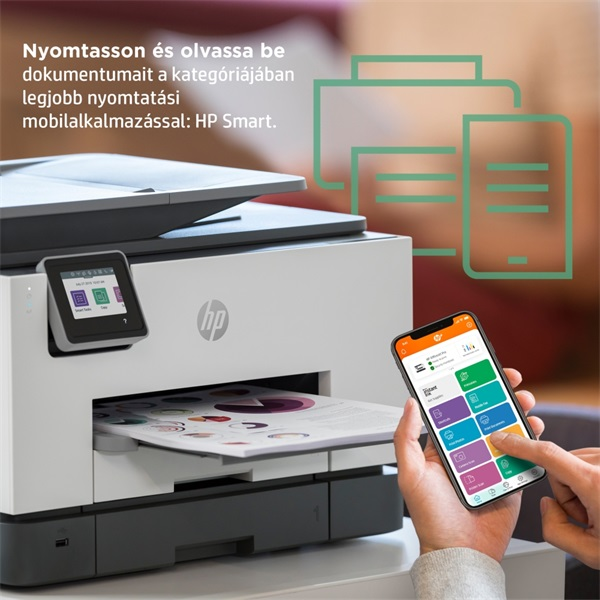 HP OfficeJet Pro 9022E All-in-One multifunkciós tintasugaras Instant Ink ready nyomtató - 15