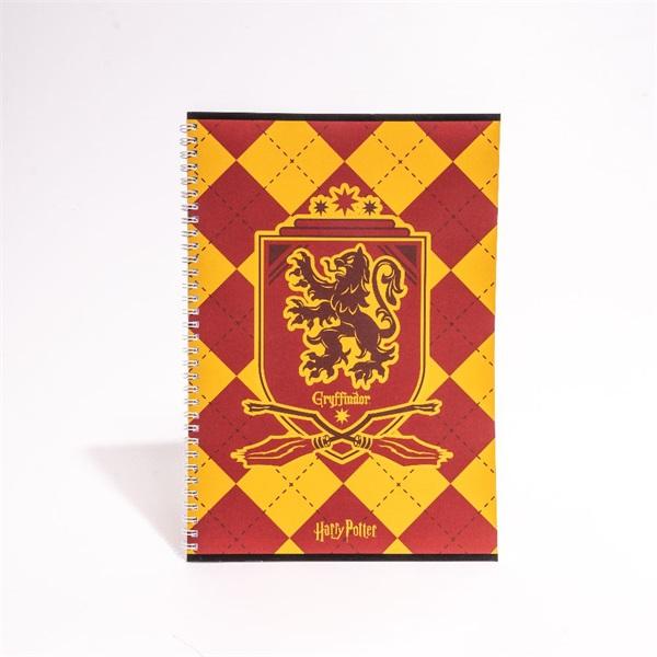 Harry Potter A4 80 lapos vonalas spirálfüzet - 6