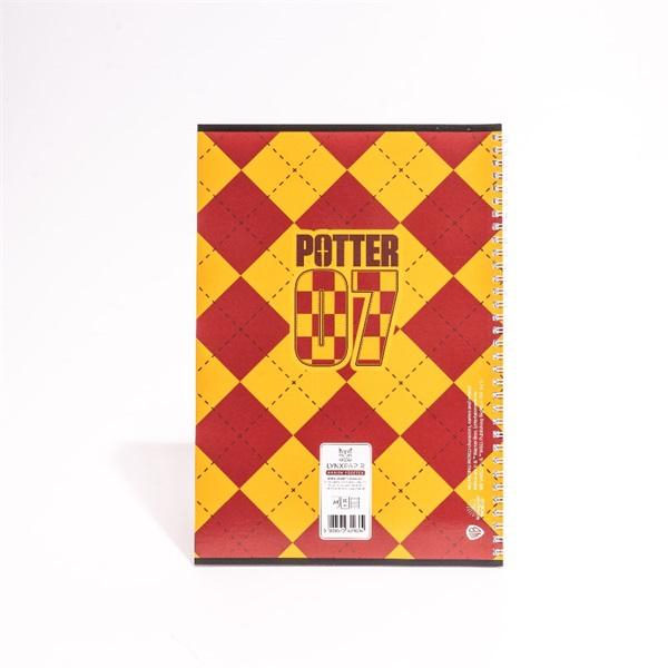Harry Potter A4 80 lapos vonalas spirálfüzet - 7