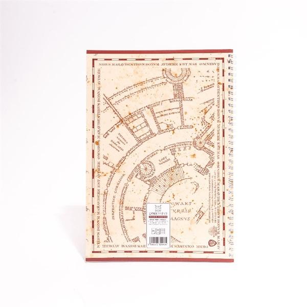 Harry Potter A4 80 lapos vonalas spirálfüzet - 9