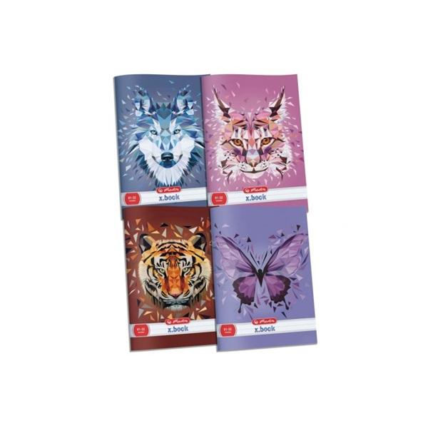 Herlitz Wild Animals A4 vonalas füzet - 1