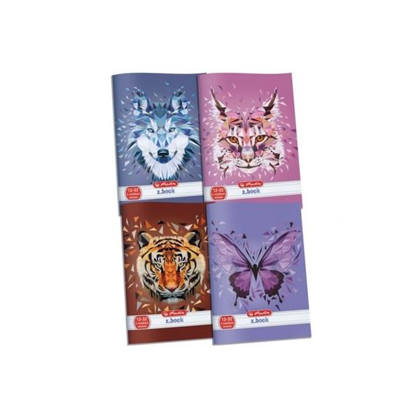 Herlitz Wild Animals A5 kockás füzet - 1