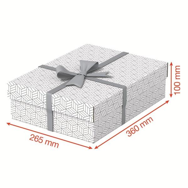Home 3db/csomag fehér ajándék/tárolódoboz - 4