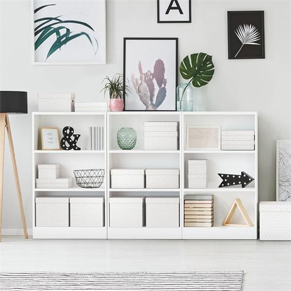 Home 3db/csomag fehér ajándék/tárolódoboz - 7