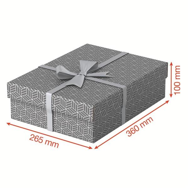 Home 3db/csomag szürke ajándék/tárolódoboz - 4