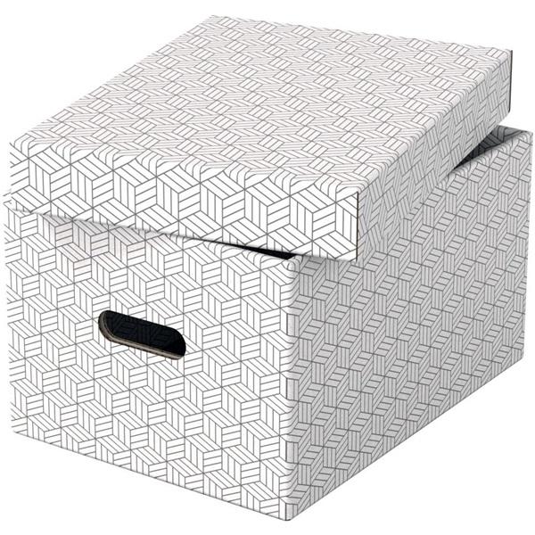 Home M méret 3db/csomag fehér tárolódoboz - 2