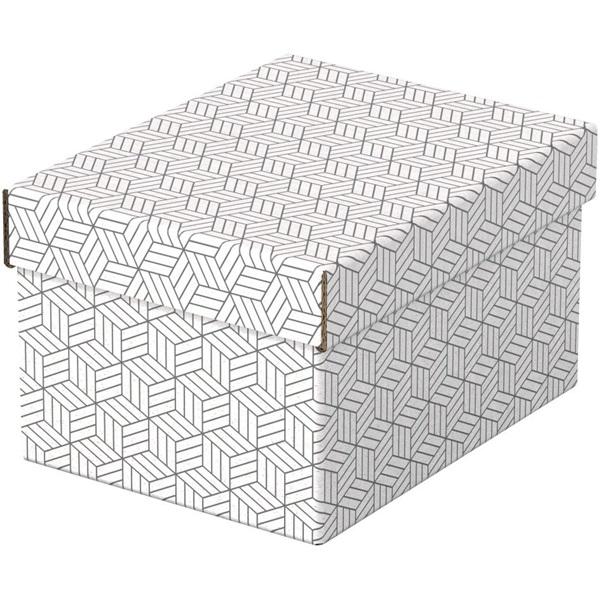 Home S méret 3db/csomag fehér tárolódoboz - 2