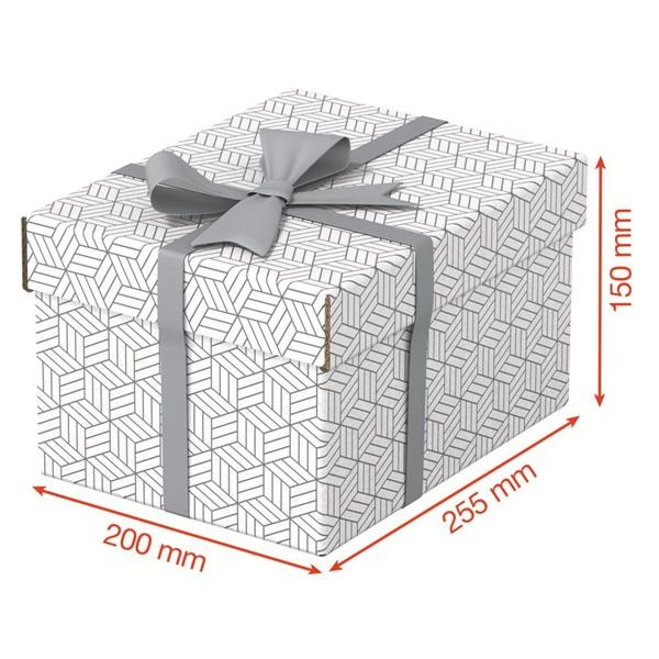Home S méret 3db/csomag fehér tárolódoboz - 4