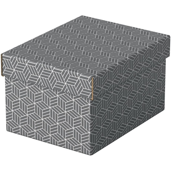 Home S méret 3db/csomag szürke tárolódoboz - 1