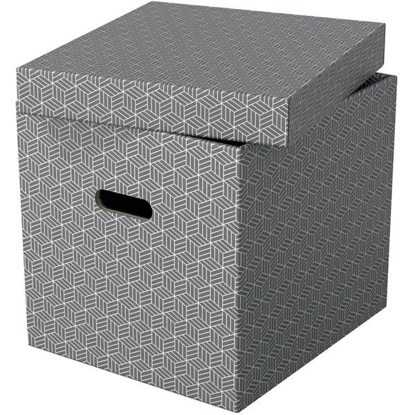 Home kocka alakú 3db/csomag tárolódoboz - 2