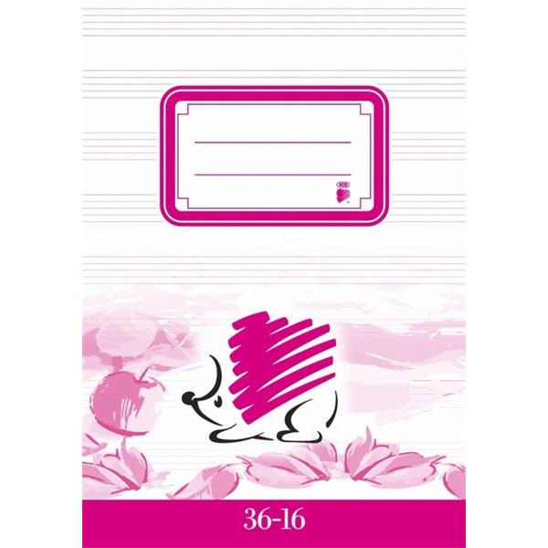 ICO Süni A5 36-16 hangjegyfüzet - 1