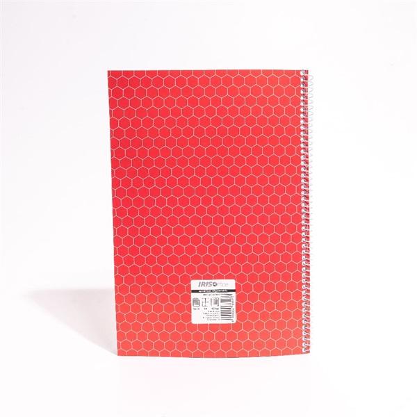 IRISOffice A4 60 lapos kockás spirálfüzet - 2