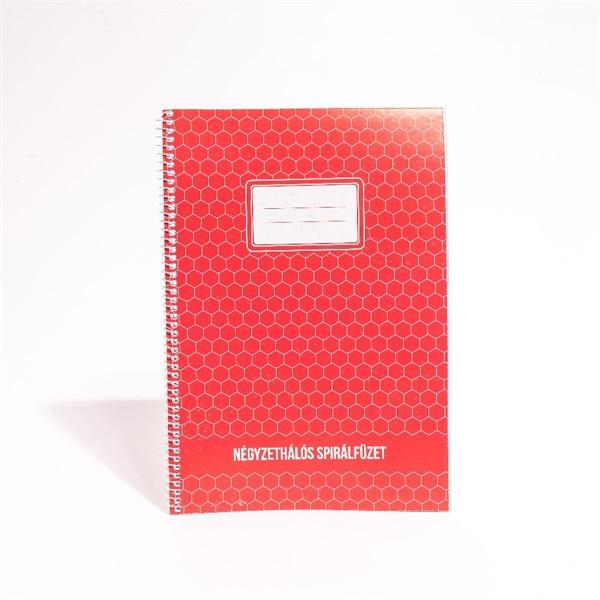 IRISOffice A4 60 lapos kockás spirálfüzet - 1