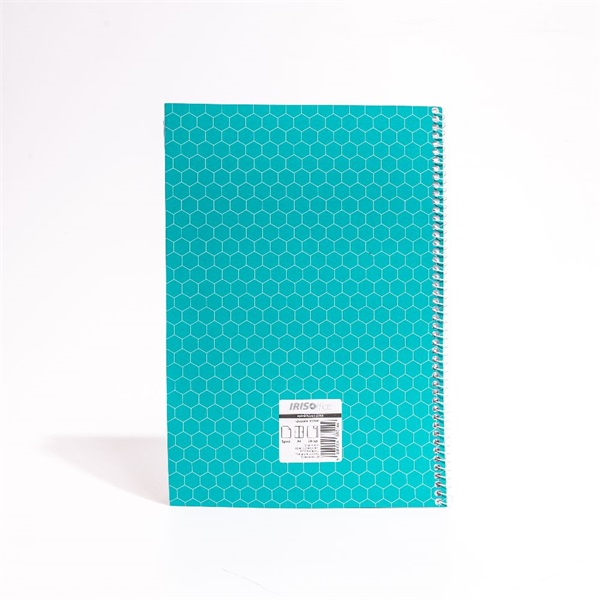 IRISOffice A4 60 lapos sima spirálfüzet - 2