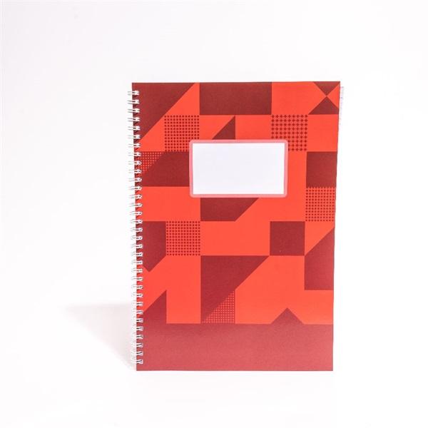 IRISOffice A4 80 lapos kockás (ikerspirál) spirálfüzet - 1