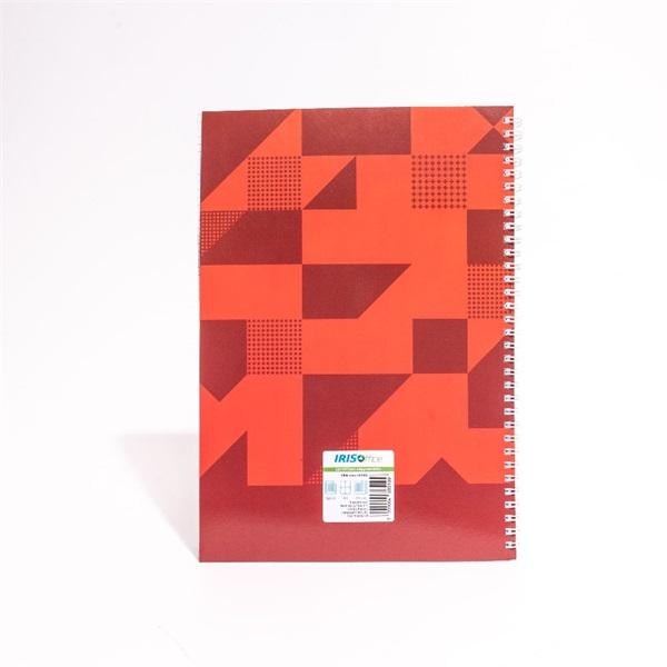 IRISOffice A4 80 lapos kockás (ikerspirál) spirálfüzet - 2