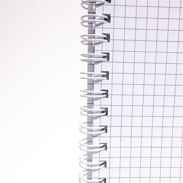 IRISOffice A4 80 lapos kockás (ikerspirál) spirálfüzet - 3