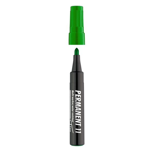 ICO 11 zöld permanent marker - 1