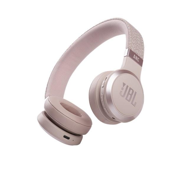 JBL LIVE 460 NC ROSE Bluetooth aktív zajszűrős rózsaszín fejhallgató a PlayIT Store-nál most bruttó 15.999 Ft.