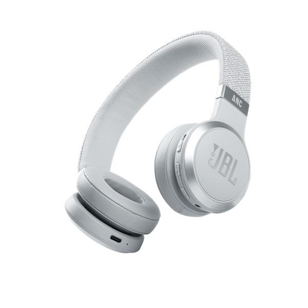 JBL LIVE 460 NC WHT Bluetooth aktív zajszűrős fehér fejhallgató a PlayIT Store-nál most bruttó 15.999 Ft.