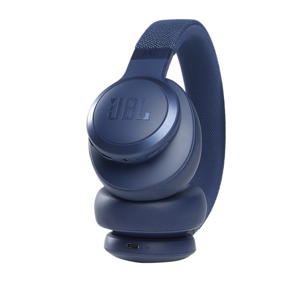JBL LIVE 660 BTNC BLU Bluetooth aktív zajszűrős kék fejhallgató - 5