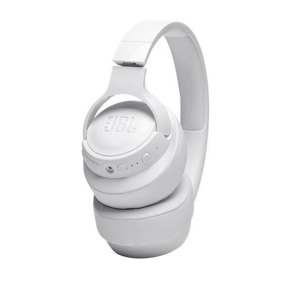 JBL T760NCWHT Bluetooth aktív zajszűrős fehér fejhallgató - 4