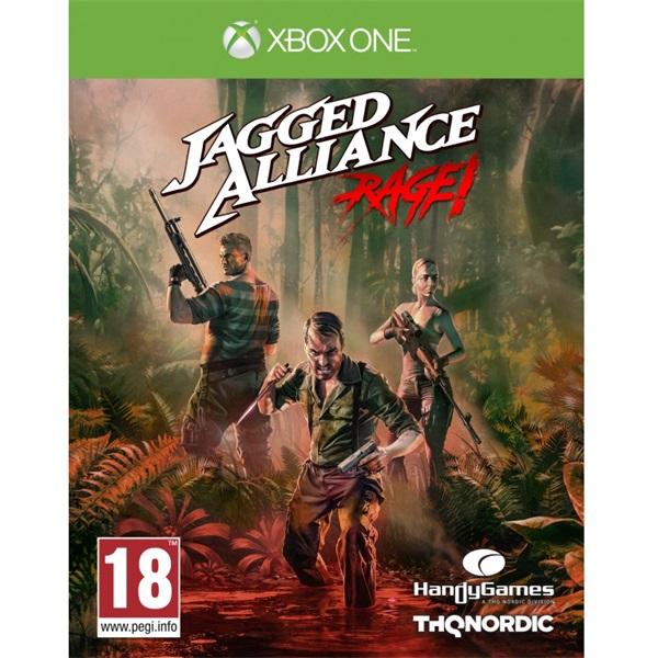 Jagged Alliance: Rage Xbox One játékszoftver - 1