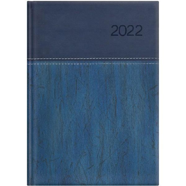 Kalendart United 2022-es U012 B6 heti beosztású kék határidőnapló - 1