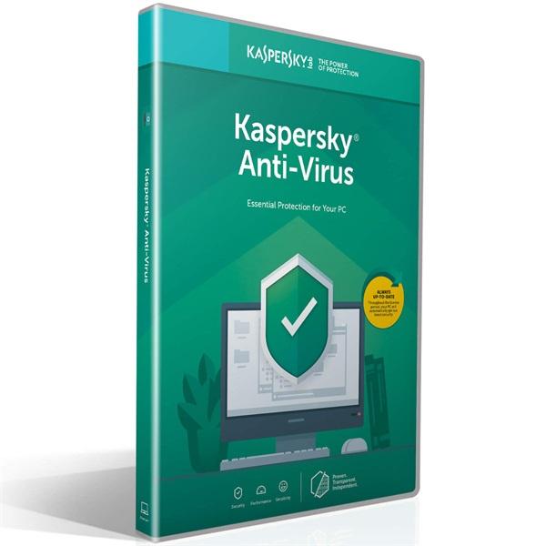 Kaspersky Antivirus HUN 1 Felhasználó 1 év dobozos vírusirtó szoftver a PlayIT Store-nál most bruttó 15.999 Ft.