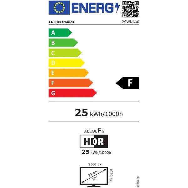 """LG 29"""" 29WN600-W LED IPS 21:9 Ultrawide HDMI monitor - 1"""