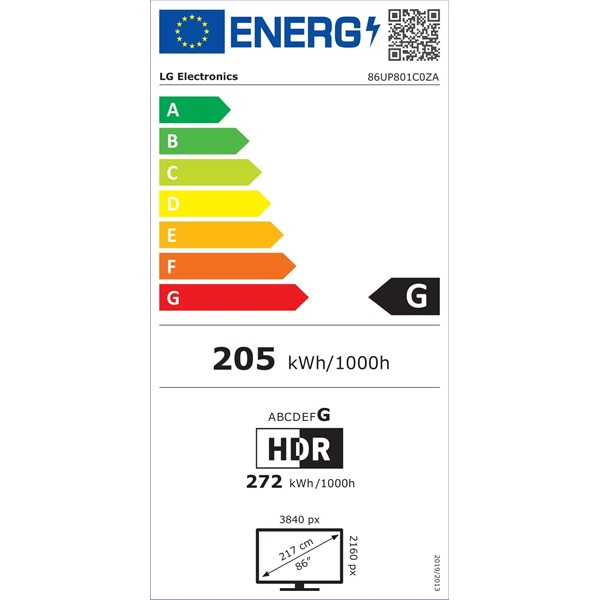 """LG 86"""" 86UP801C0ZA 4K UHD Smart LED TV - 5"""