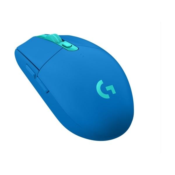 Logitech G305 Lightspeed kék vezeték nélküli gamer egér - 2