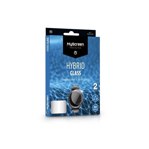 MSP LA-1884 Xiaomi Mi Band 4C 2db-os rugalmas üveg kijelzővédő fólia - 1