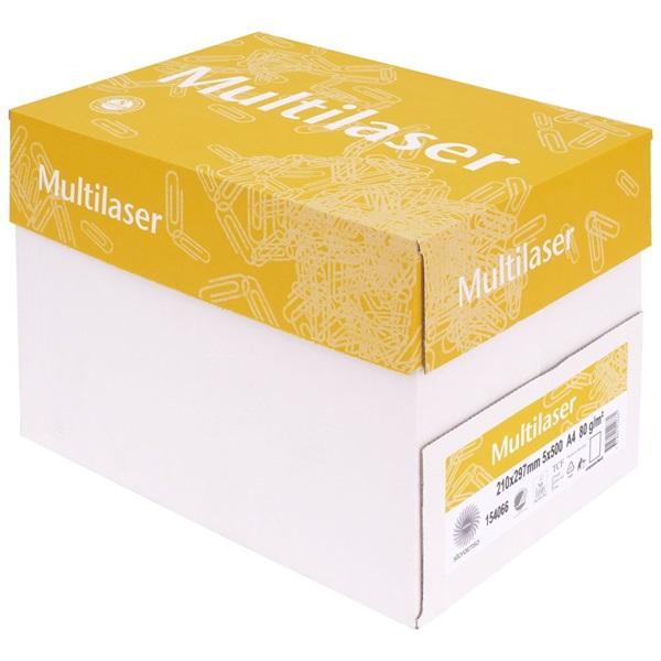 Multilaser fénymásolópapír A4 80g - 2