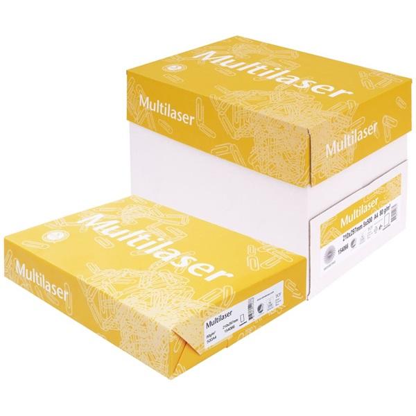 Multilaser fénymásolópapír A4 80g - 3