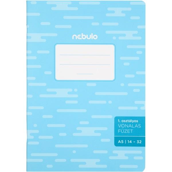 Nebulo basic+ A5 14-32 1. osztályos vonalas füzet - 1