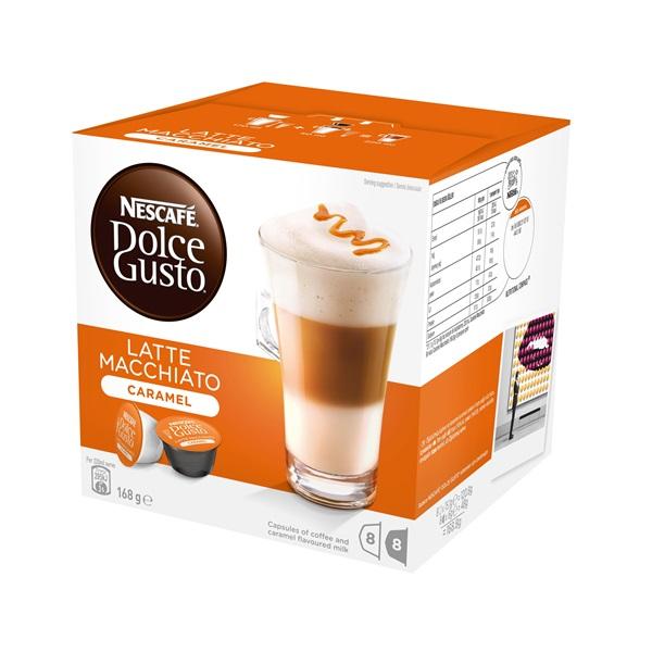 Nescafé Dolce Gusto Caramell Macchiato 16 db kávékapszula a PlayIT Store-nál most bruttó 15.999 Ft.