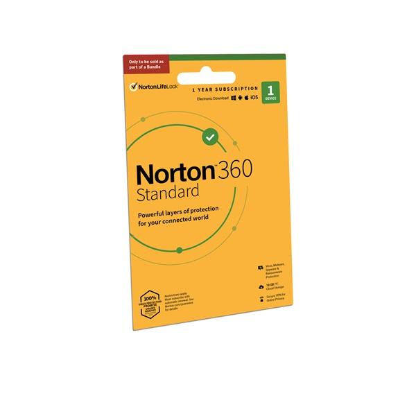 Norton 360 STANDARD 10GB SWS 1 Felhasználó 1 gép 1 éves dobozos vírusirtó szoftver - 1