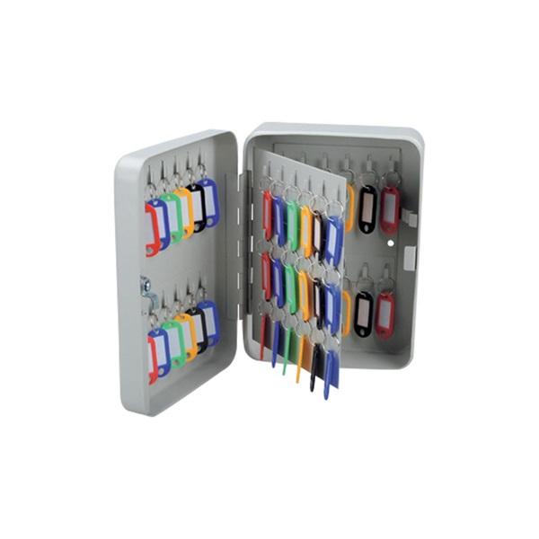 Office Depot kulcsszekrény 60 kulcshoz, szürke - 1