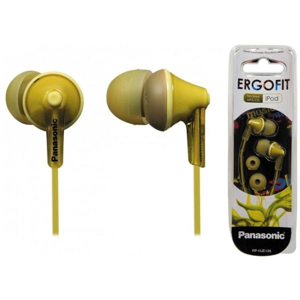 Panasonic RP-HJE125E-Y sárga fülhallgató a PlayIT Store-nál most bruttó 15.999 Ft.