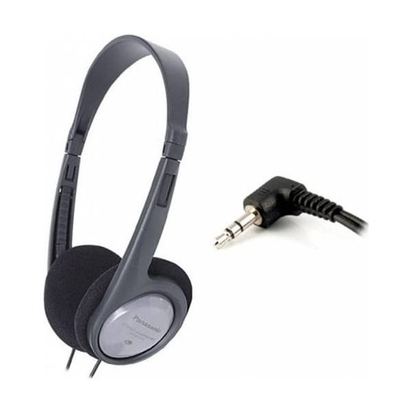 Panasonic RP-HT010E-H fekete-szürke fejhallgató a PlayIT Store-nál most bruttó 15.999 Ft.