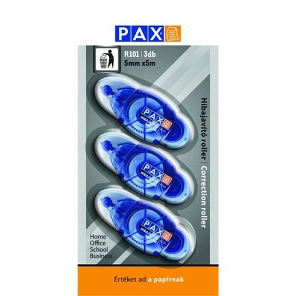 Pax R101 hibajavító roller 3 db kék