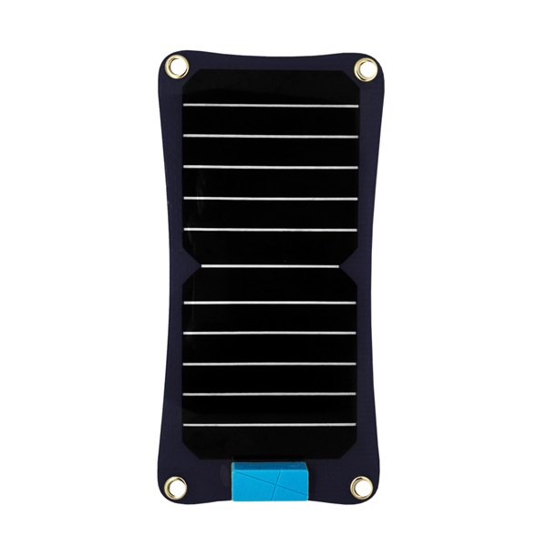 Quazar Q-Solar Panel fekete vezeték nélküli napelemes töltő - 1