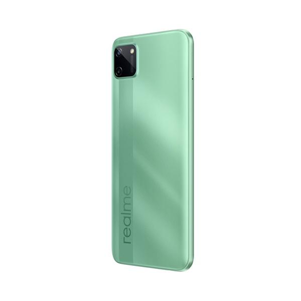 Realme C11 3/32GB Dual SIM kártyafüggetlen okostelefon - zöld (Android) - 5