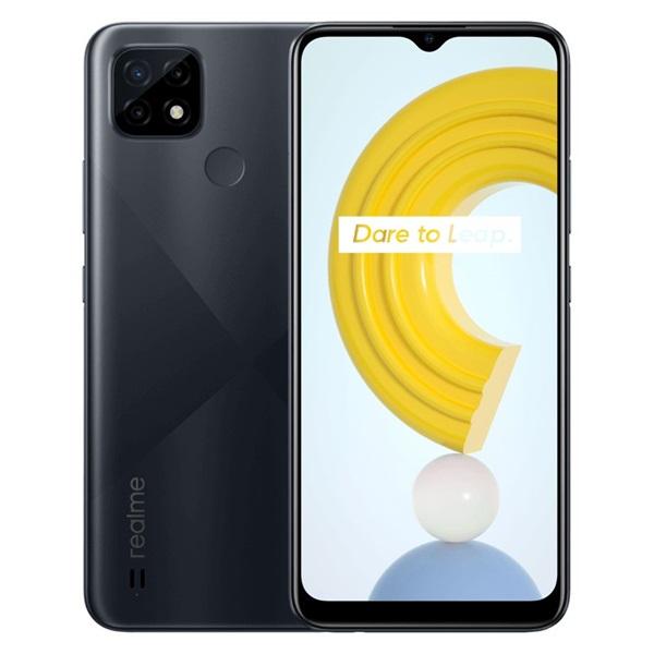Realme C21 4/64GB DualSIM kártyafüggetlen okostelefon - fekete (Android) - 1